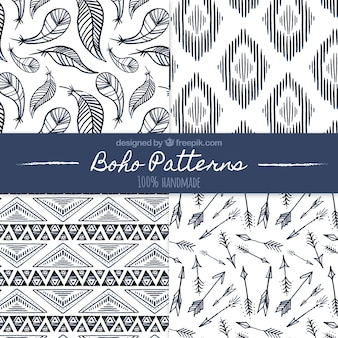 Patterns of boho skizzen