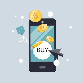Pay-per-click und online-bestellung