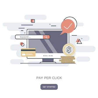 Pay per klick