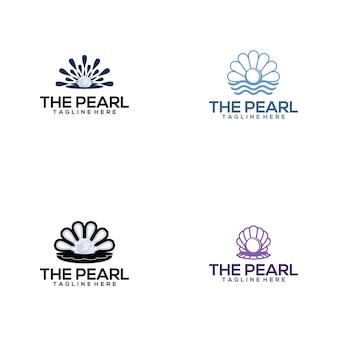 Pearl-logo-sammlung