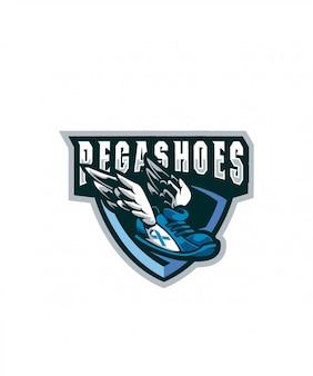 Pegashoes sports logo