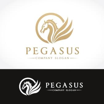 Pegasus logo. pferdelogo