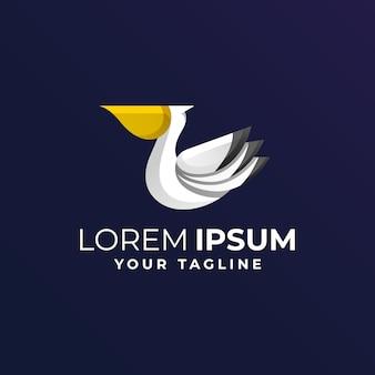 Pelikan-logo mit verstärkung