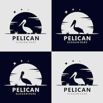 Pelikan-silhouette-logo-konzept