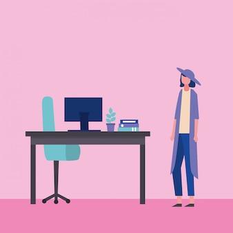 People-geschäft im büro