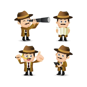 People profession detective