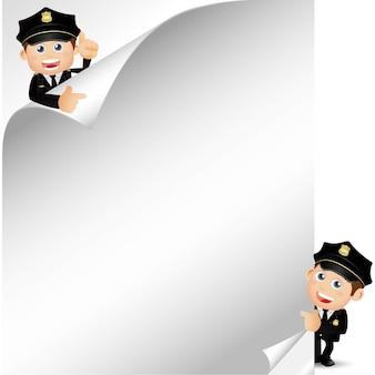 People set beruf polizist