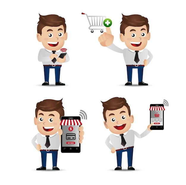 People set e shopping mobil zahlungen