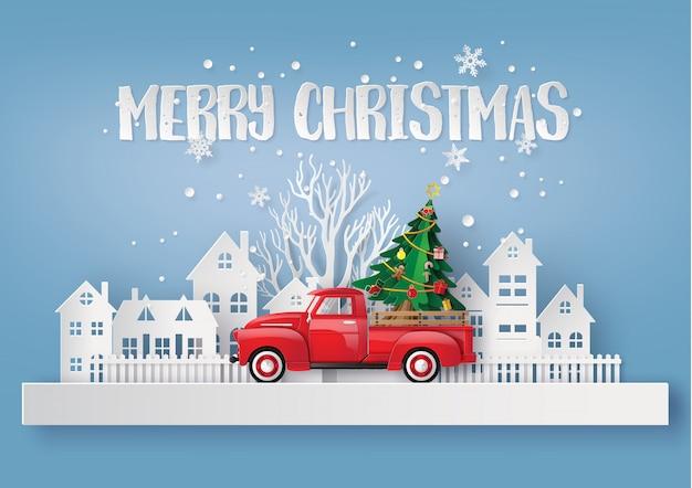 Peper kunst der frohen weihnachten und der wintersaison