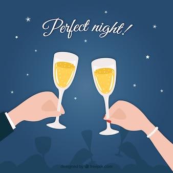 Perfekte nacht!