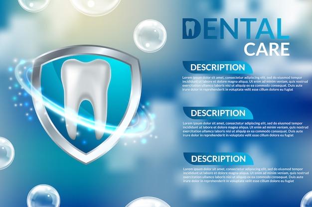 Perfekter gesunder zahn