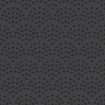 Perforierter materieller vektor-nahtloses muster