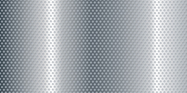 Perforierter metallischer fahnenhintergrund
