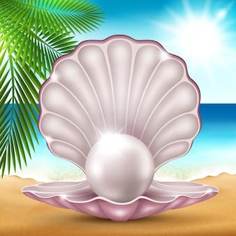 Perle im sand