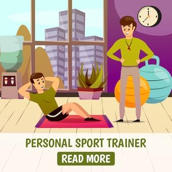 Persönlicher sporttrainer