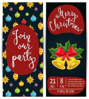 Persönliches angebot zur teilnahme an der corporate christmas party