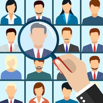 Personalmanagement mitarbeiter auswählen