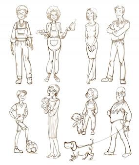 Personengruppen-set