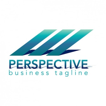 Perspective logo, helle farbe