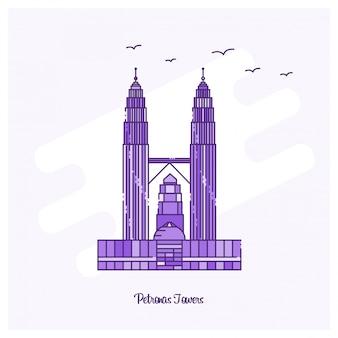 Petronas towers wahrzeichen