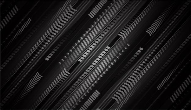 Pfeil cyber circuit zukunftstechnologie konzept hintergrund