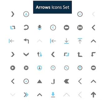 Pfeil-icon-set