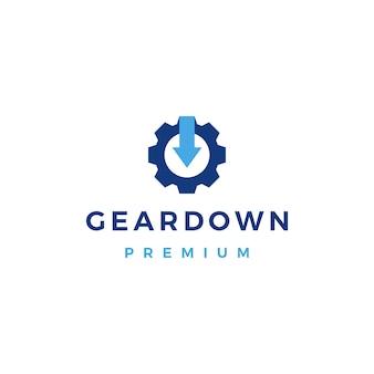 Pfeil nach unten logo