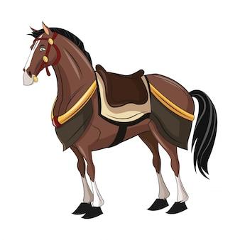 Pferde cartoon tier design