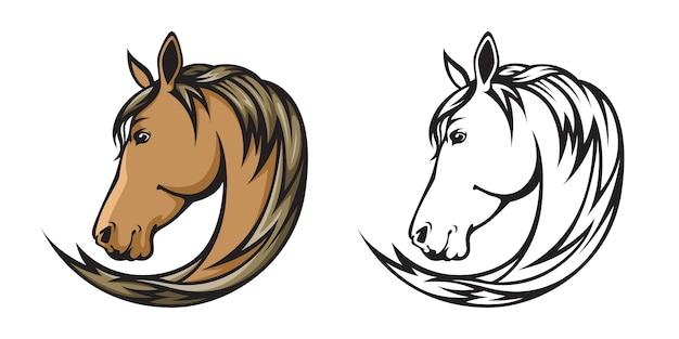 Pferdeillustration