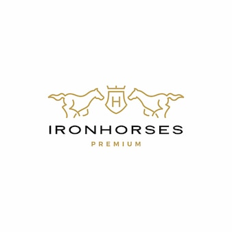 Pferdewappen logo