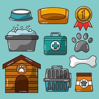 Pflege und tierärztliche versorgung von haustierzubehör