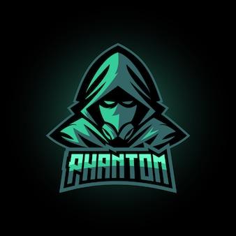 Phantom maskottchen-logo