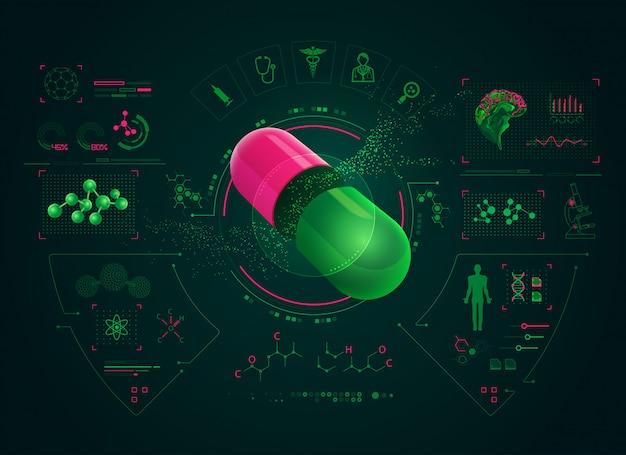 Pharmazeutische schnittstelle