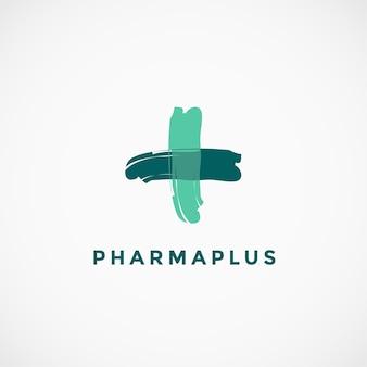 Pharmazeutisches kreuz-logo