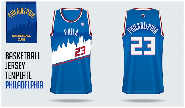 Philadelphia basketball trikot