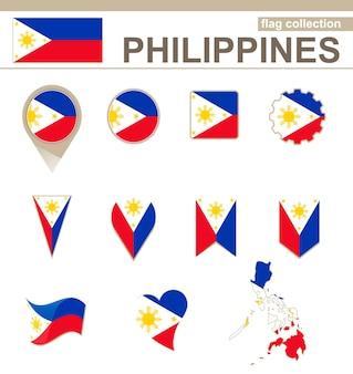Philippinen flaggenkollektion, 12 versionen