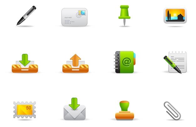 Philos icons - set 1   website und internet