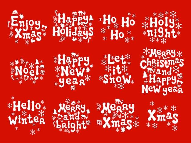 Phrasen für weihnachten und neujahr