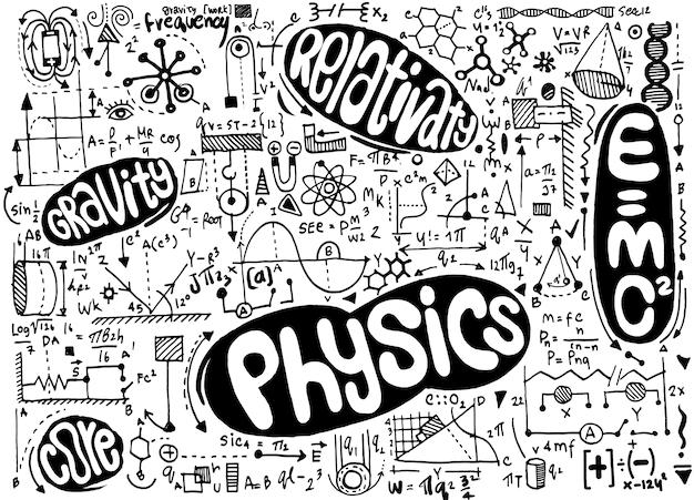 Physikalische formeln und phänomen