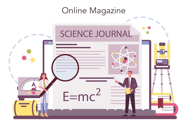 Physiker online-service oder plattform