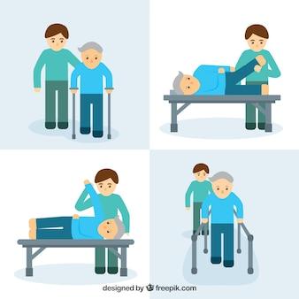 Physiotherapie-übungen