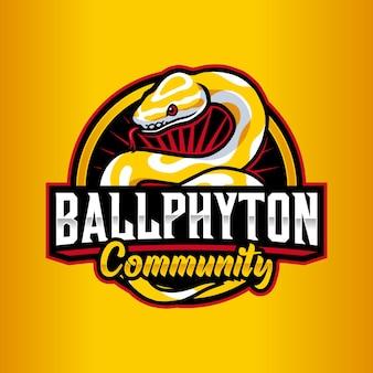 Phyton-logo-vorlage