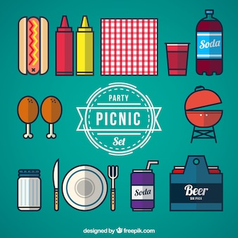 Picknick-party-set