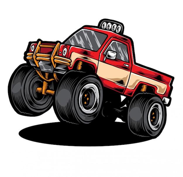 Pickup truck vektor