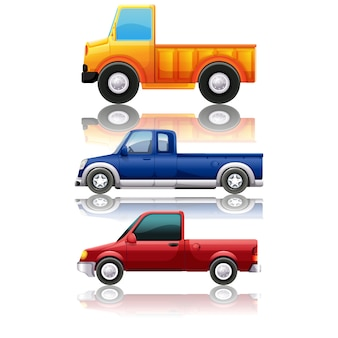 Pickup trucks kollektion