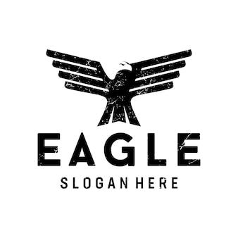 Pictorial eagle logo deisgn