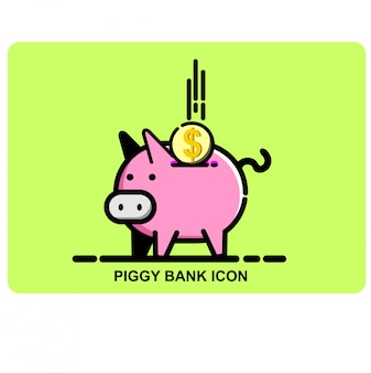 Piggy bank-symbol
