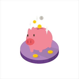 Piggybank-vektor