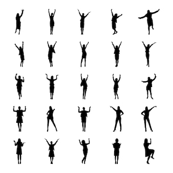 Piktogramm der menschlichen avatare