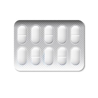 Pillen in einer blisterpackung